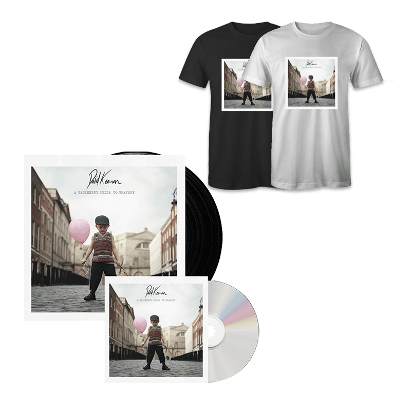 Buy Online David Keenan - A Beginners Guide To Bravery CD + Vinyl + T-Shirt