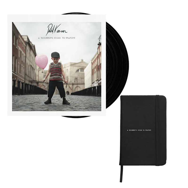 Buy Online David Keenan - A Beginners Guide To Bravery Vinyl + Notebook