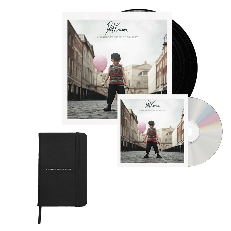 Buy Online David Keenan - A Beginners Guide To Bravery Vinyl + CD + Notebook