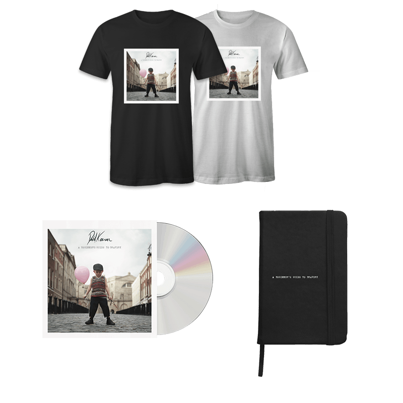 Buy Online David Keenan - A Beginners Guide To Bravery CD + Notebook + T-Shirt