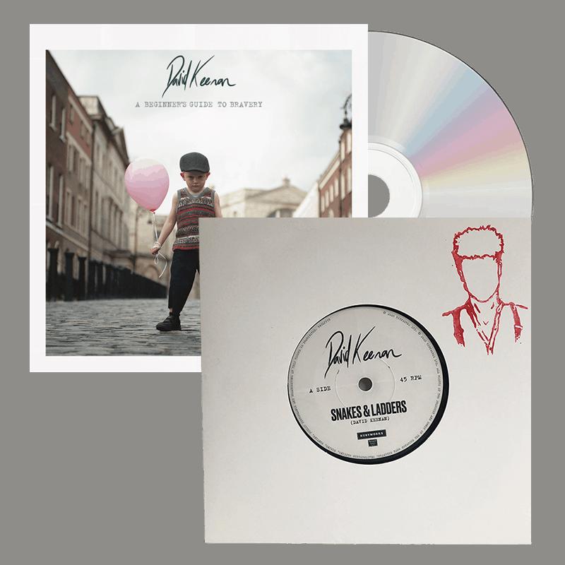 Buy Online David Keenan - A Beginners Guide To Bravery CD Album + 7-Inch Single