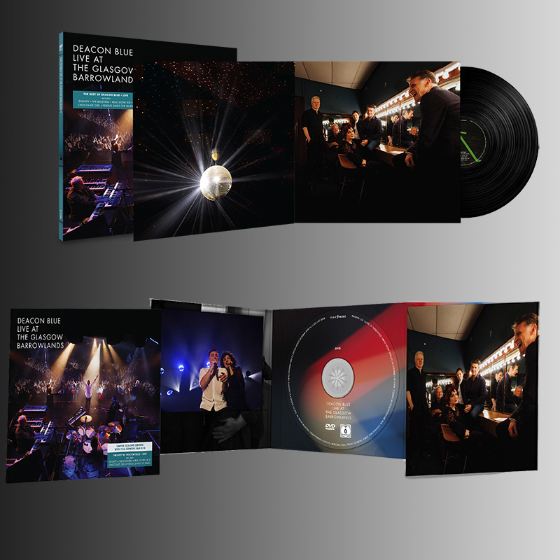 Buy Online Deacon Blue - Live At The Glasgow Barrowlands CD/DVD + Double Vinyl