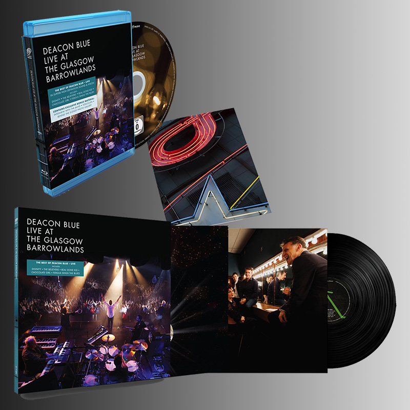 Buy Online Deacon Blue - Live At The Glasgow Barrowlands Blu-Ray + Double Vinyl