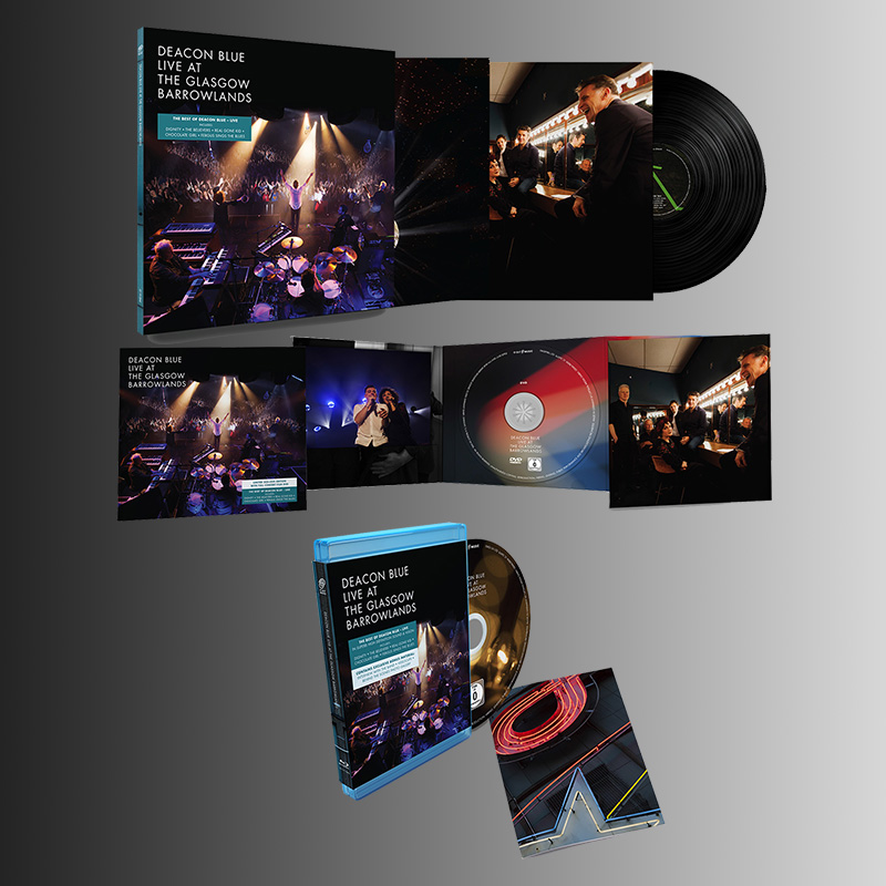 Buy Online Deacon Blue - Live At The Glasgow Barrowlands CD/DVD + Blu-Ray + Double Vinyl