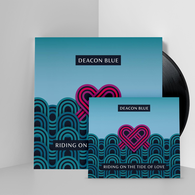 Buy Online Deacon Blue - Riding On The Tide Of Love CD + Black Vinyl