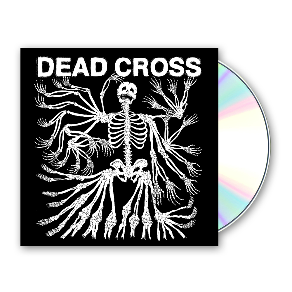 Buy Online Dead Cross - Dead Cross Digipak CD Album (with Glow In The Dark Artwork)