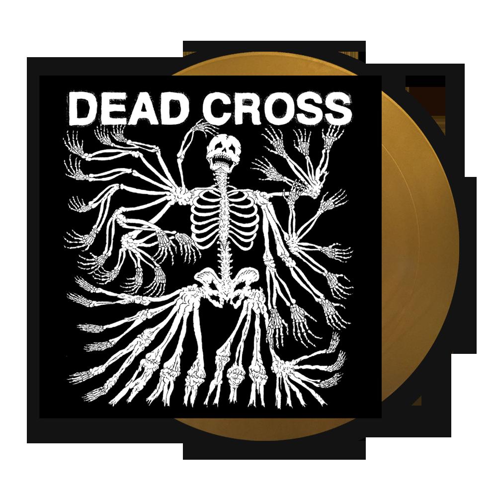Buy Online Dead Cross - Dead Cross Metallic Gold Vinyl LP (with Glow In The Dark Artwork)