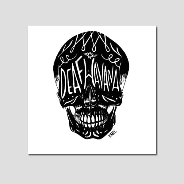 Buy Online Deaf Havana - Deaf Havana Numbered Art Print