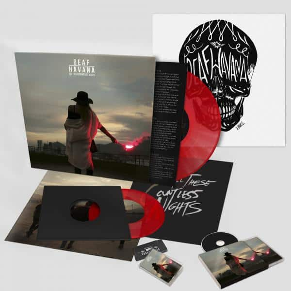 Buy Online Deaf Havana - All These Countless Nights Deluxe LP + Deluxe CD + Cassette + Art Print