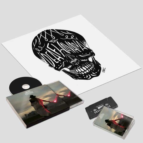 Buy Online Deaf Havana - All These Countless Nights Deluxe CD + Cassette + Art Print
