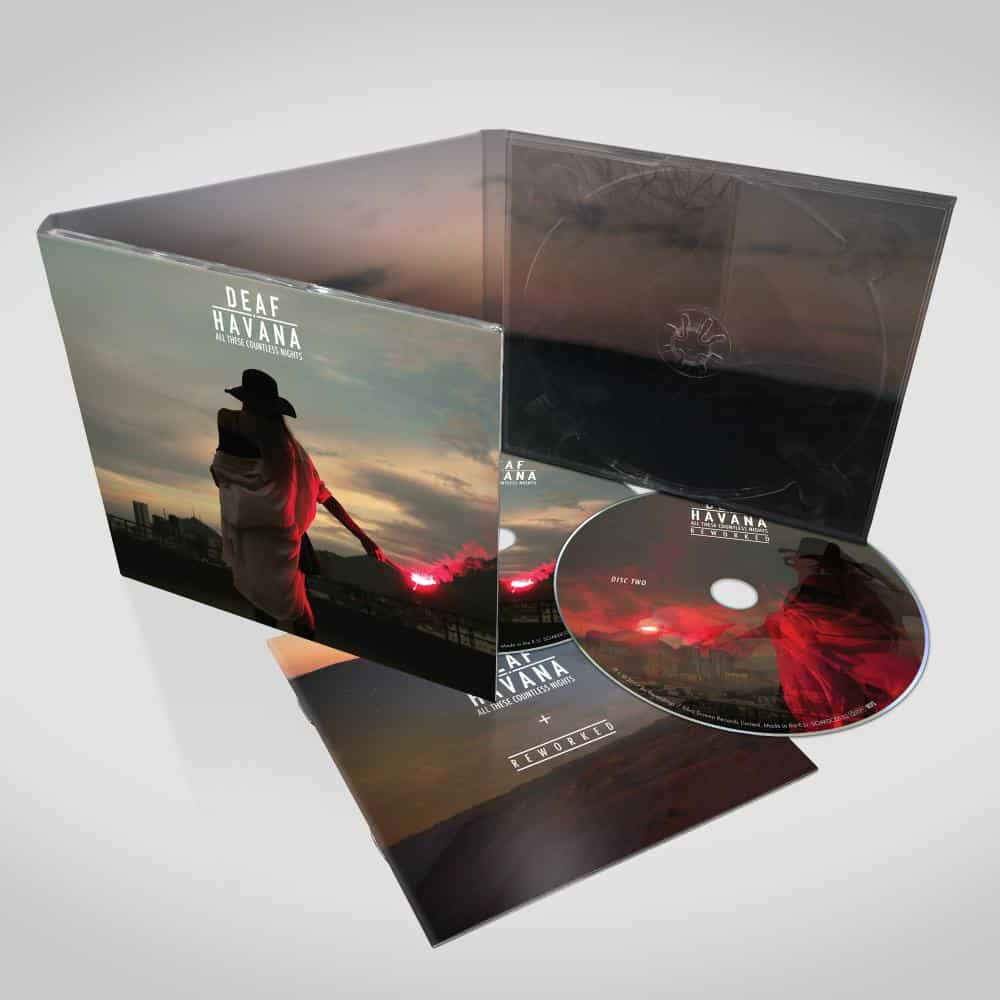 Buy Online Deaf Havana - All These Countless Nights - Reworked - Deluxe 2CD Edition (Signed)