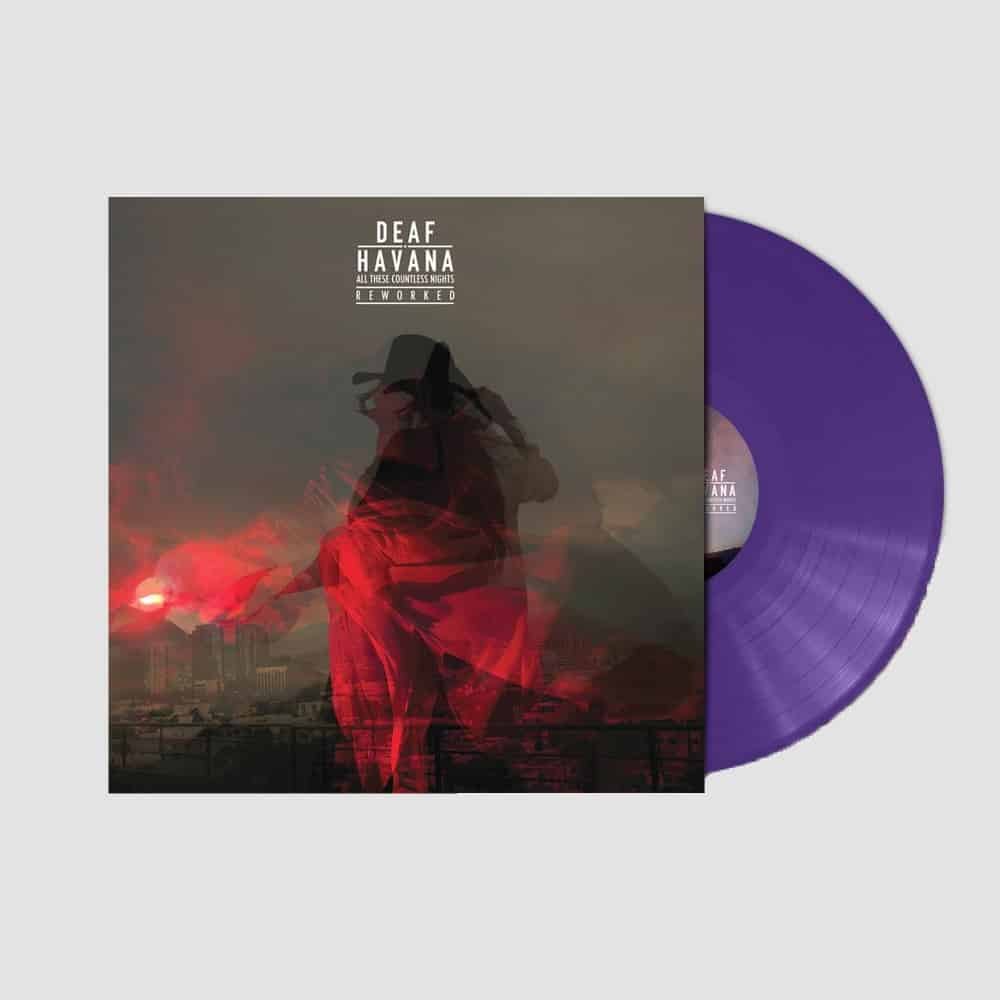 Buy Online Deaf Havana - All These Countless Nights - Reworked - Vinyl (Purple Vinyl) (Signed)