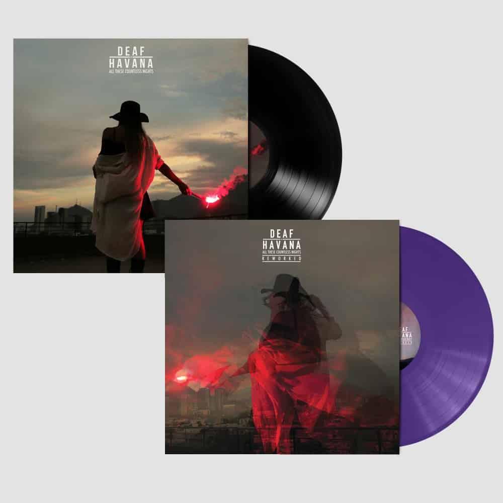 Buy Online Deaf Havana - All These Countless Nights - Reworked - Purple Vinyl + Original Black Vinyl
