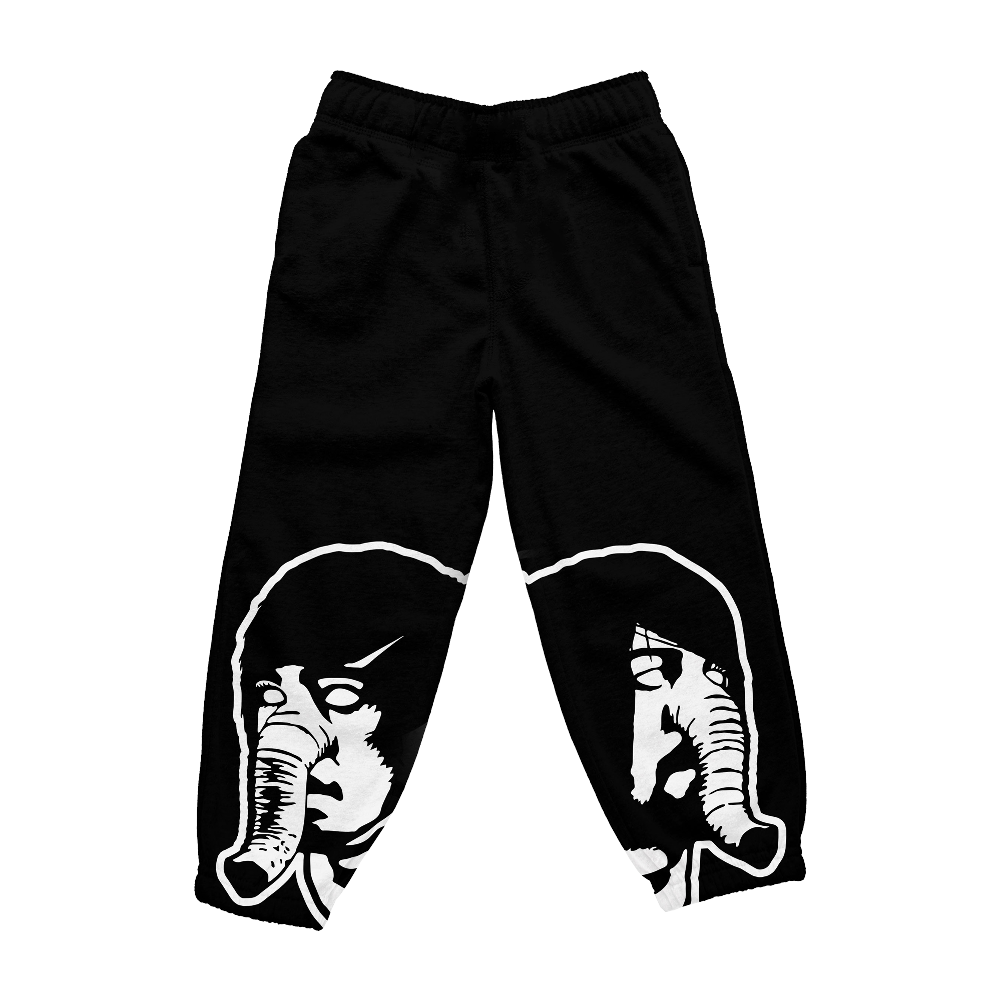 DFA Logo Black Sweatpants