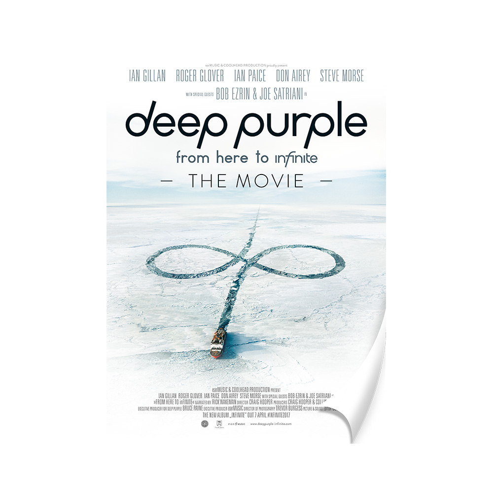 Buy Online Deep Purple - Movie A2 Poster