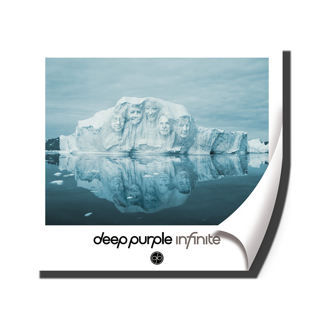 Buy Online Deep Purple - Band Picture In Ice A2 Poster