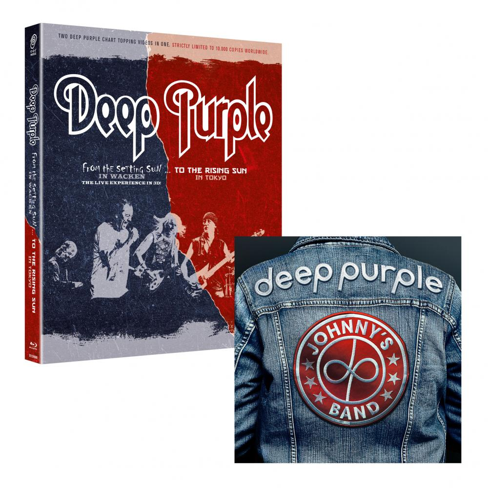 Buy Online Deep Purple - Johnny's Band EP + From The Setting Sun (In Wacken)... To The Rising Sun (In Tokyo) 2 x Blu-Ray Set