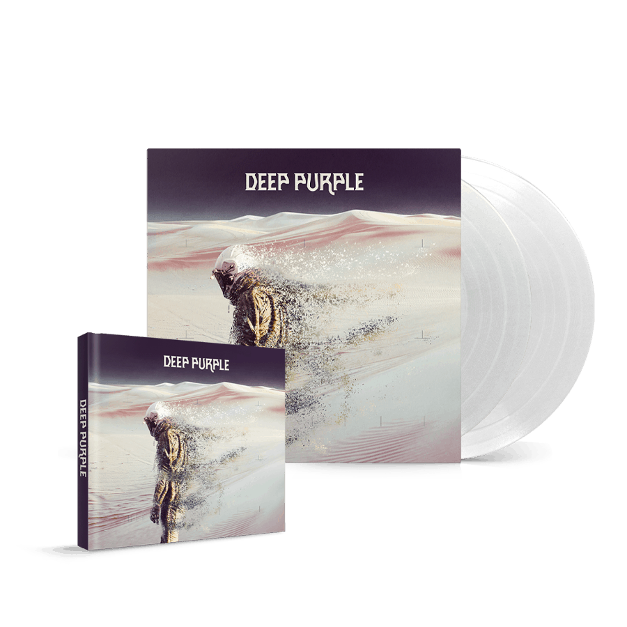 Buy Online Deep Purple - Whoosh! CD/DVD Mediabook + Clear White Double Vinyl