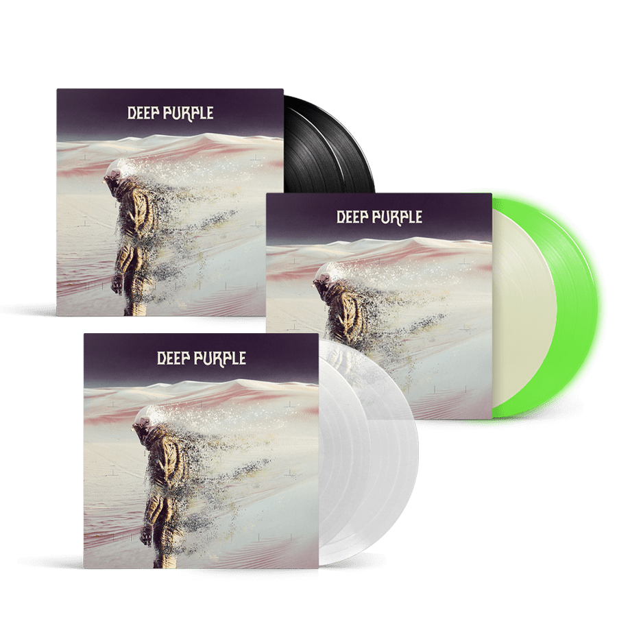 Buy Online Deep Purple - Whoosh! Exclusive Glow In The Dark Double Vinyl + Clear White Double Vinyl + Double Vinyl (Inc. DVD)