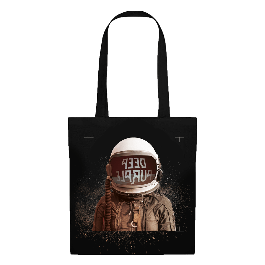 Buy Online Deep Purple - Whoosh! Layout 1 Tote Bag