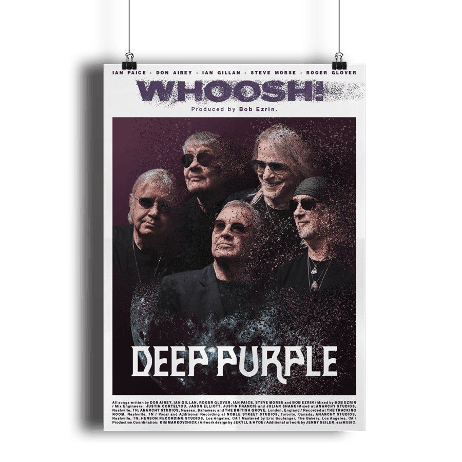 Buy Online Deep Purple - A2 Band Poster Whoosh!