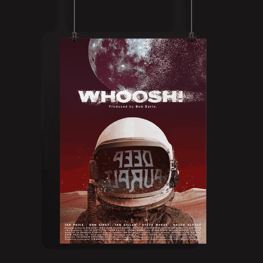 Buy Online Deep Purple - A2 Whoosh! Poster