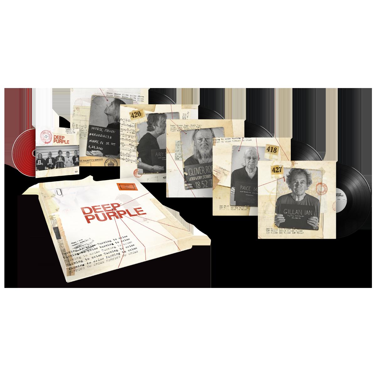 Buy Online Deep Purple - Turning To Crime Boxset (Ltd Edition)