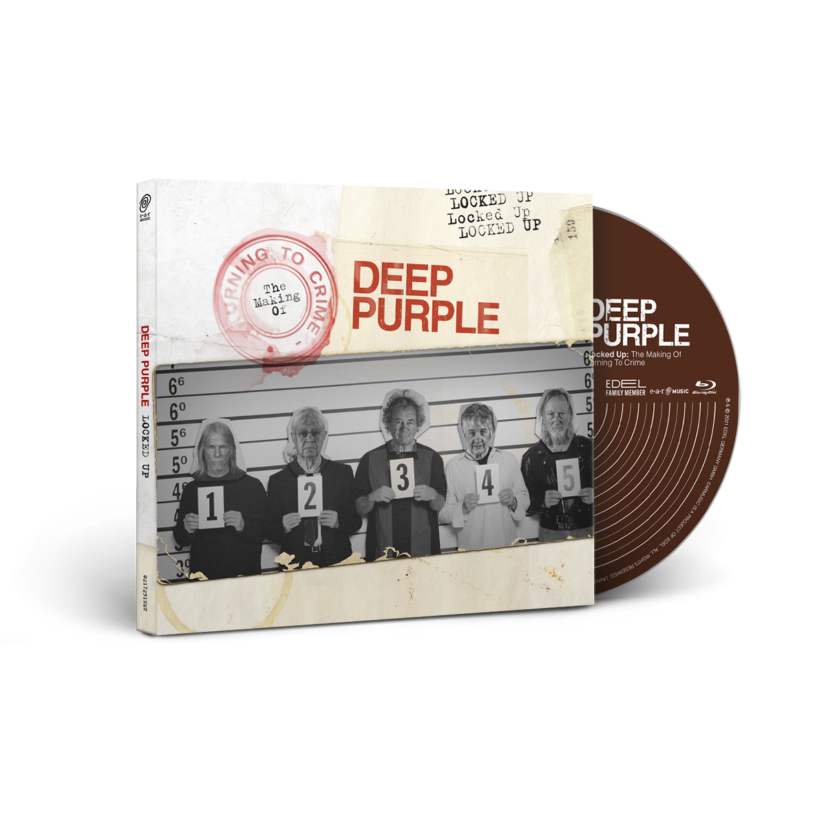 Buy Online Deep Purple - Locked Up: The Making Of Turning To Crime Blu-ray