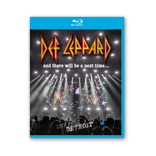 Buy Online Def Leppard - And There Will Be A Next Time... Live From Detroit Blu-ray