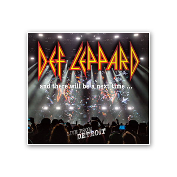 Buy Online Def Leppard - And There Will Be A Next Time... Live From Detroit 2CD + DVD