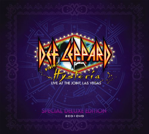 Buy Online Def Leppard - Viva Hysteria - Live At The Joint 3CD Album