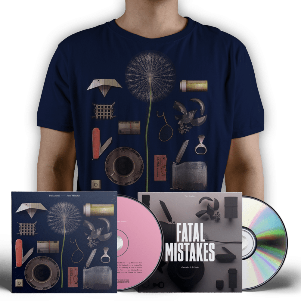 Buy Online Del Amitri - Signed CD + T-shirt + Outtakes & B-Sides CD