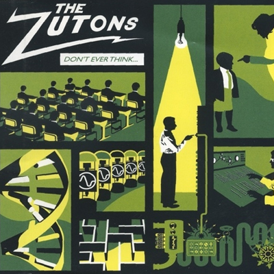 Buy Online The Zutons - Don't Ever Think (Too Much) CD Single (Green Cover)