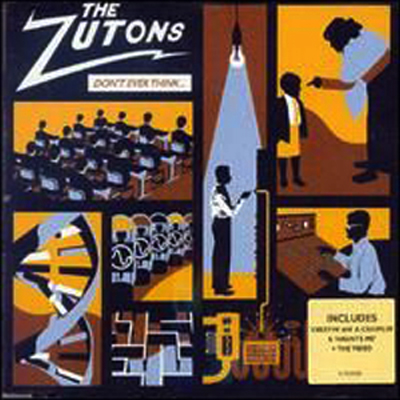 Buy Online The Zutons - Don't Ever Think (Too Much) CD Single (With Video)