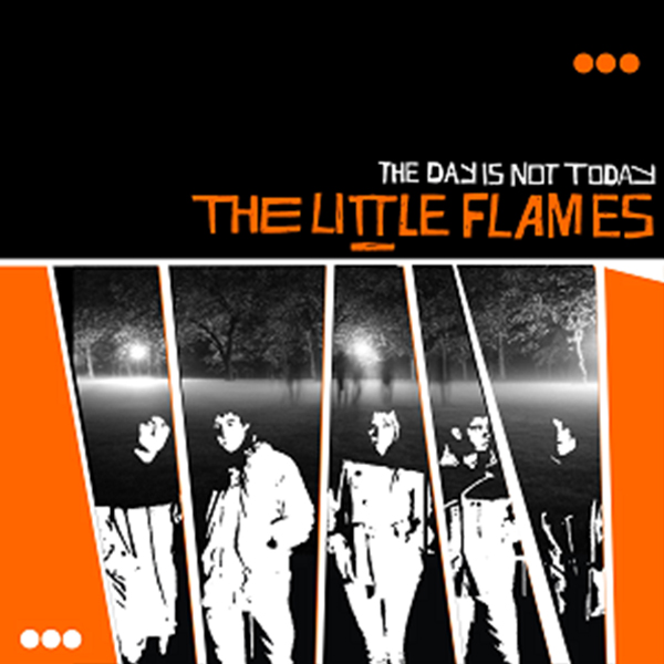 Buy Online The Little Flames - The Day Is Not Today LP (Orange Vinyl)