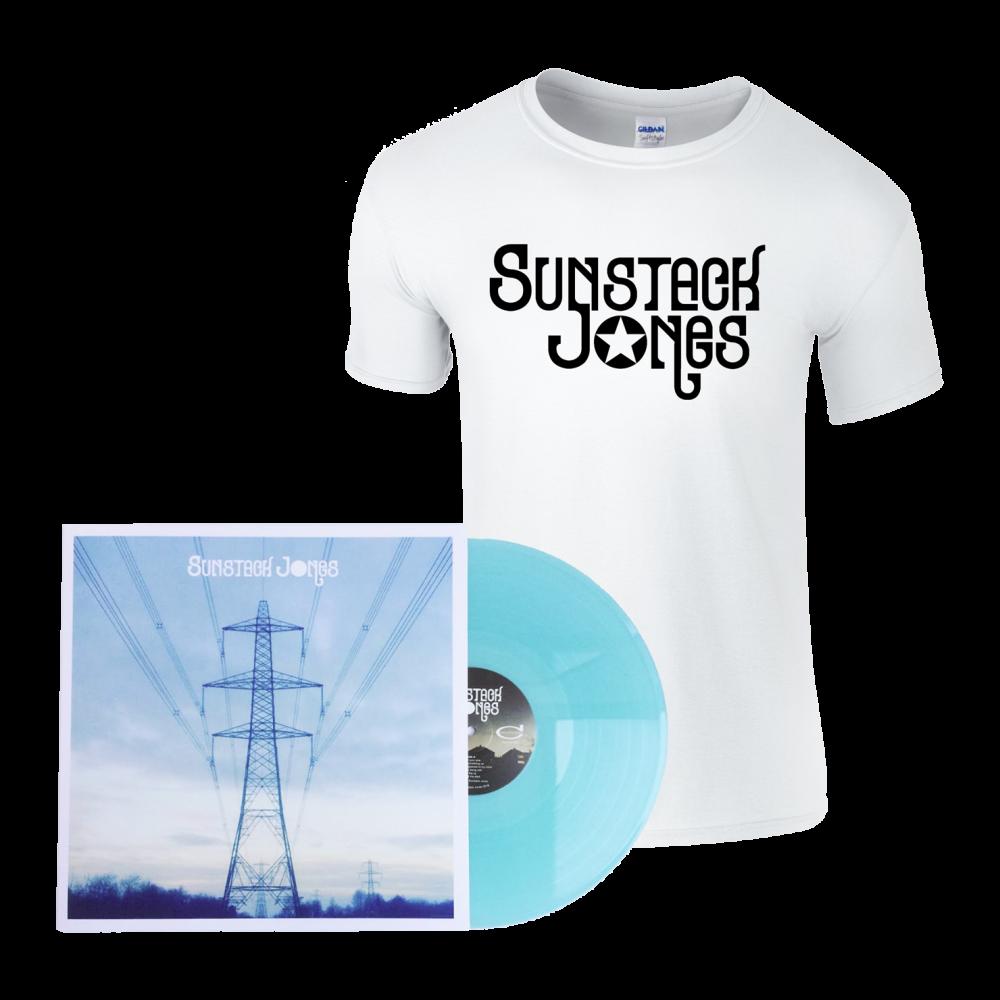 Buy Online Sunstack Jones - Sunstack Jones Vinyl + T-Shirt