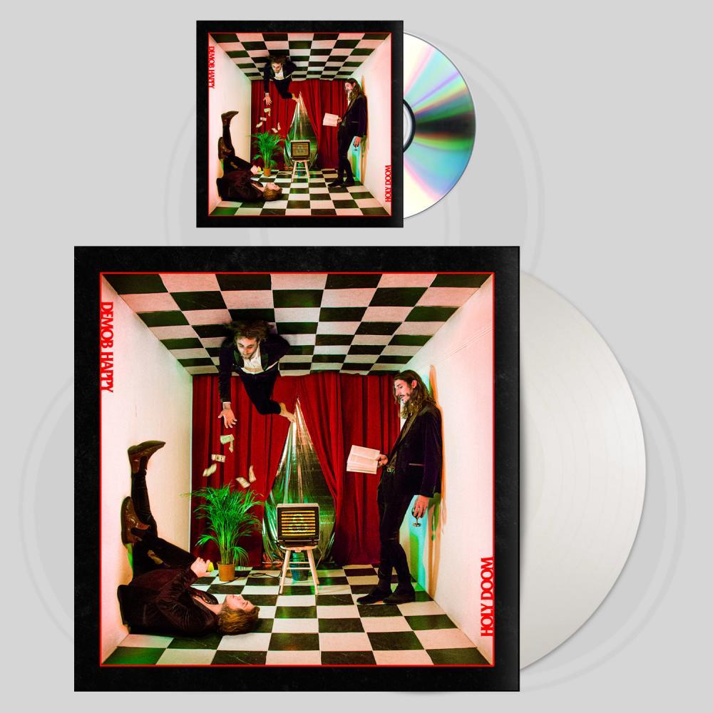 Buy Online Demob Happy - Holy Doom CD (Signed) + White Vinyl LP (Signed)