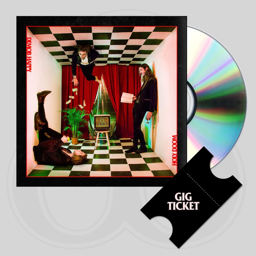 Buy Online Demob Happy - Holy Doom CD + UK Tour Ticket.