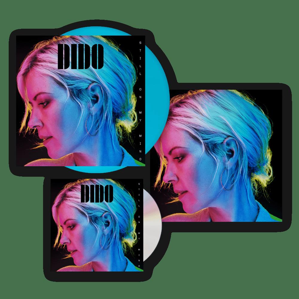 Buy Online Dido - Still On My Mind CD + Blue Vinyl LP (Exclusive) + 12 x 12 Artwork Print (Signed)