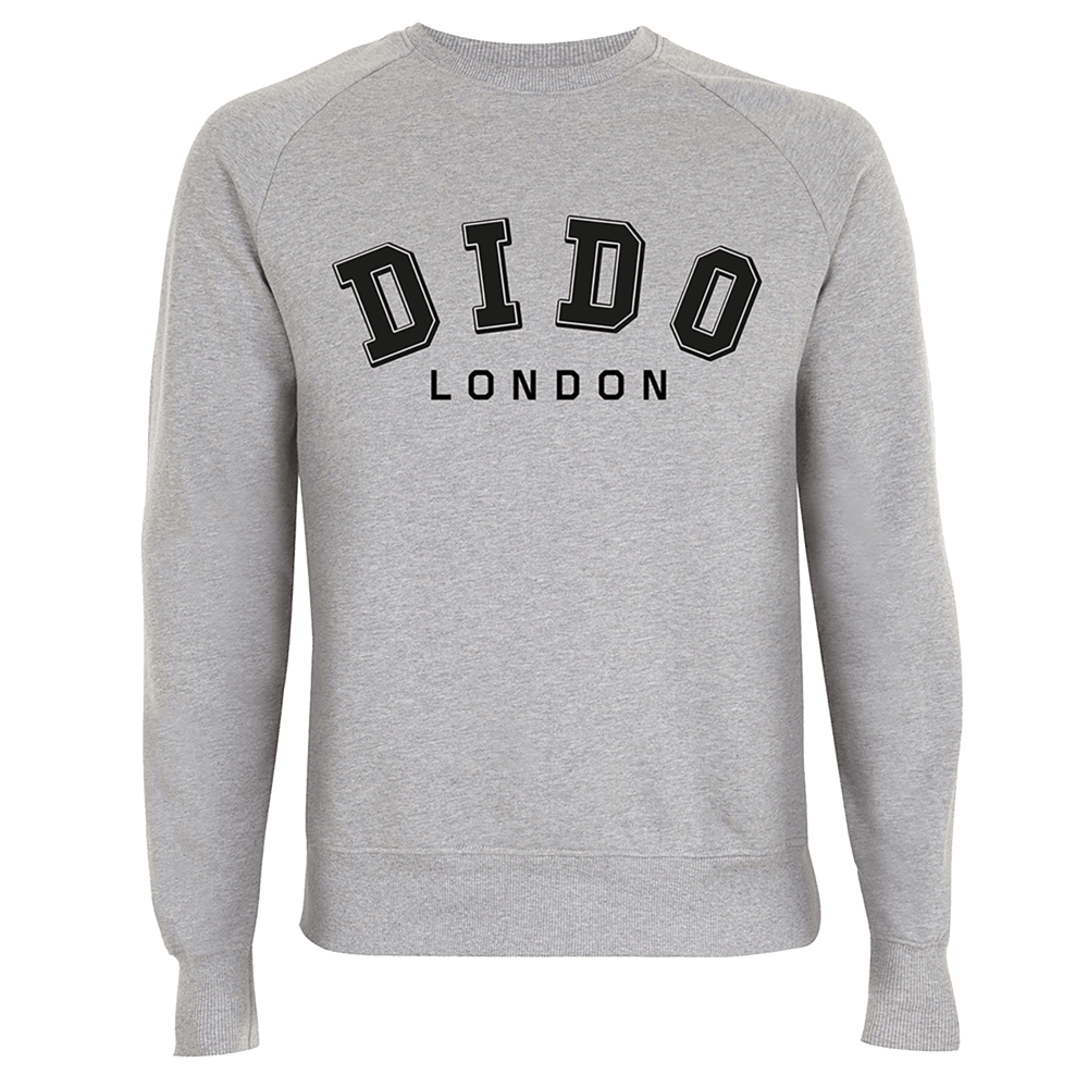 Buy Online Dido - Grey College Sweatshirt