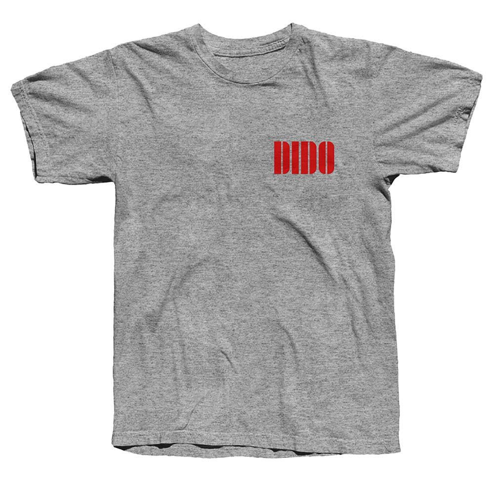 Buy Online Dido - Red Logo T-Shirt