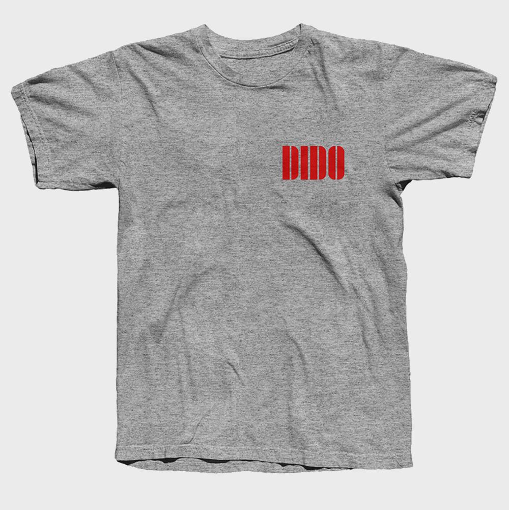 Buy Online Dido - Red Logo T-Shirt