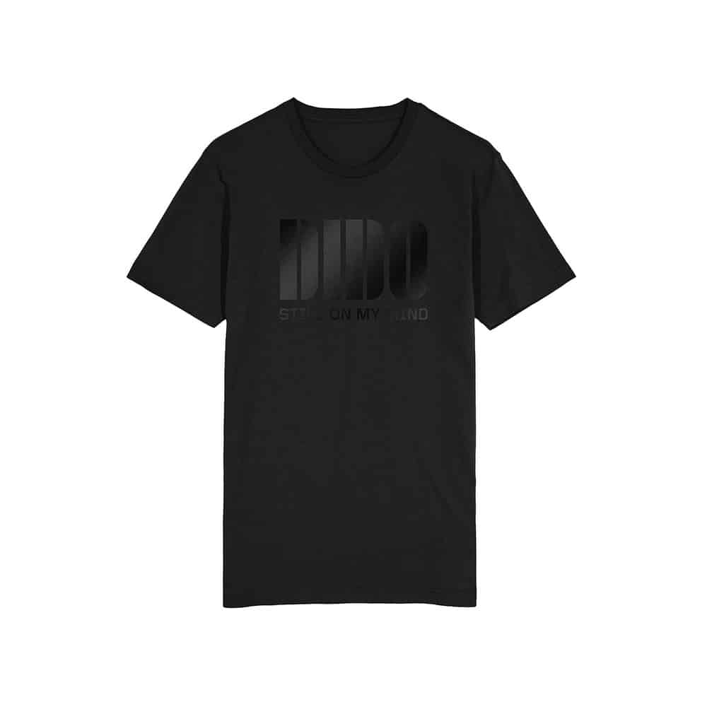 Buy Online Dido - Dido Gloss Logo On Black T-Shirt