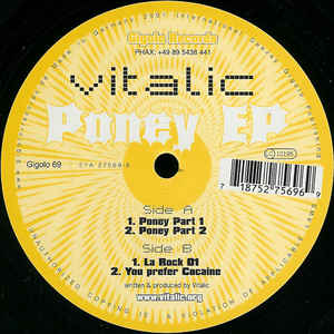 Buy Online Different Recordings - Vitalic - Poney EP