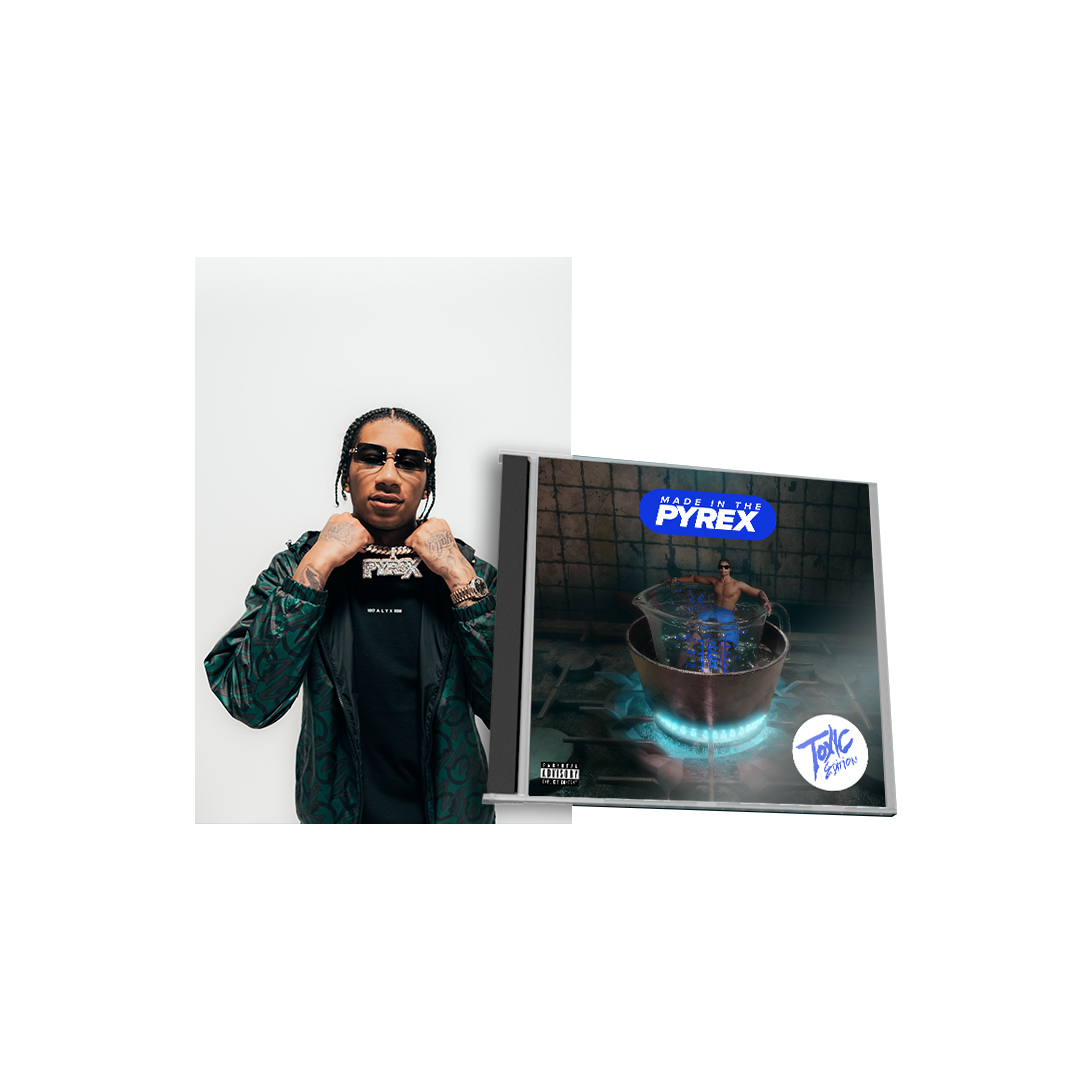Buy Online Digga D - Made In The Pyrex: Toxic Edition + Poster