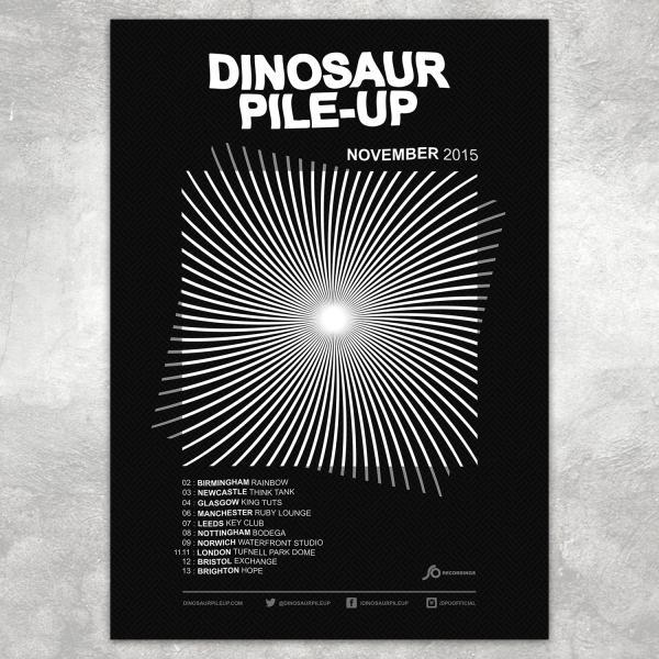 Buy Online Dinosaur Pile-Up - Eleven Eleven Tour Poster