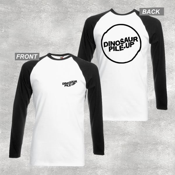 Buy Online Dinosaur Pile-Up - Logo Raglan T-Shirt