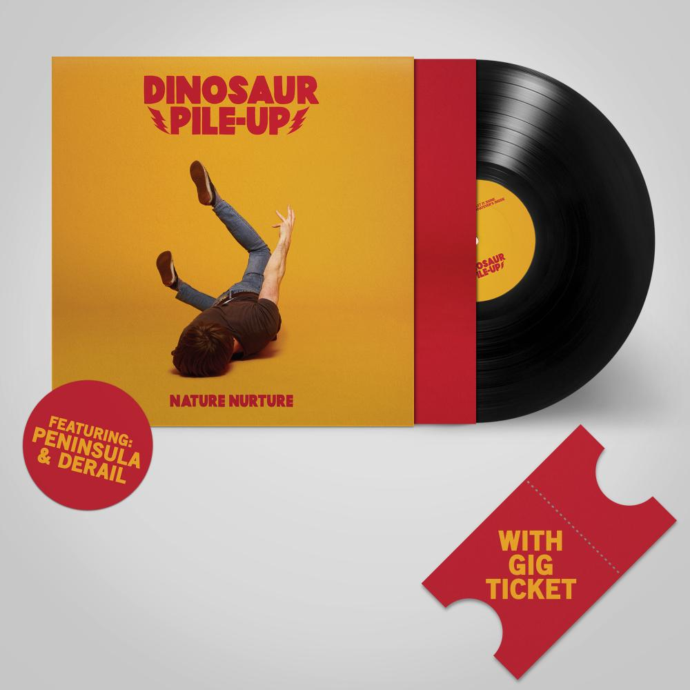 Buy Online Dinosaur Pile-Up - Nature Nurture Vinyl LP + Gig Ticket