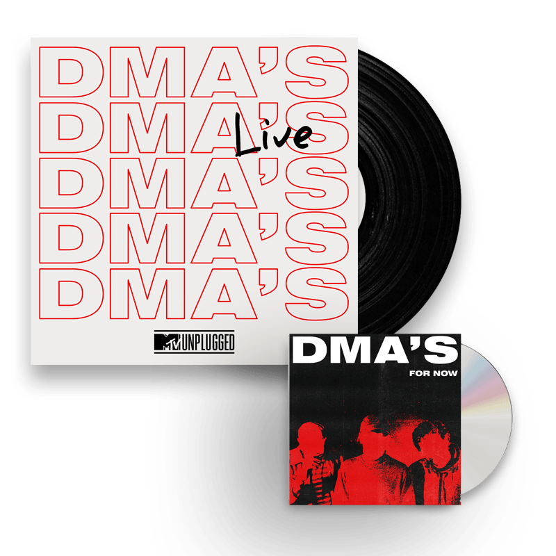 Buy Online DMA's - MTV Unplugged Live Double Heavyweight Vinyl (Ltd Edition) + For Now CD Album
