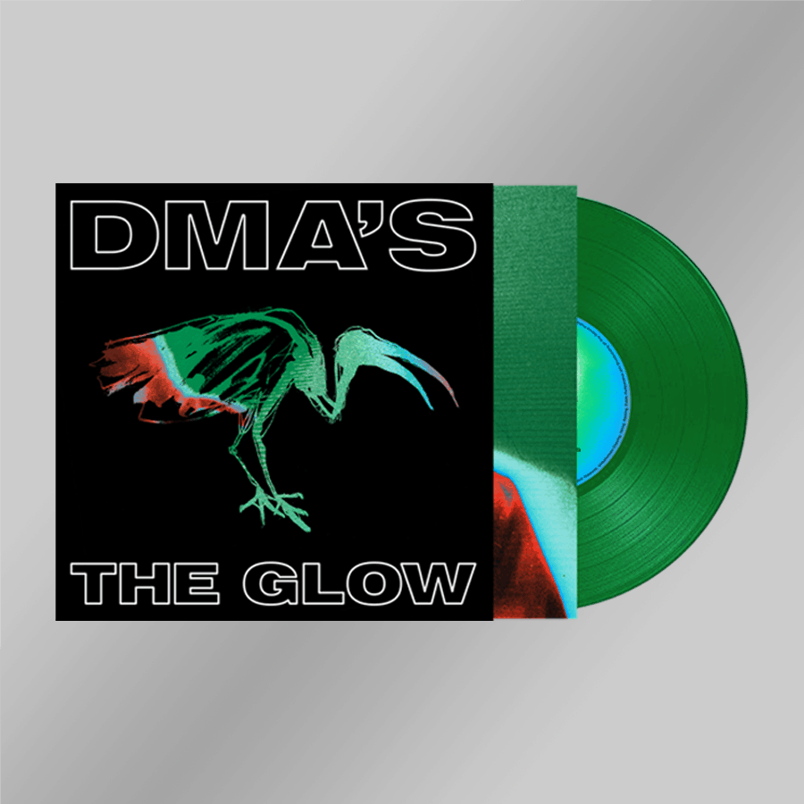 Buy Online DMA'S - The Glow Heavyweight Green Transparent Vinyl (Inc. 12 x 12 Signed Print)